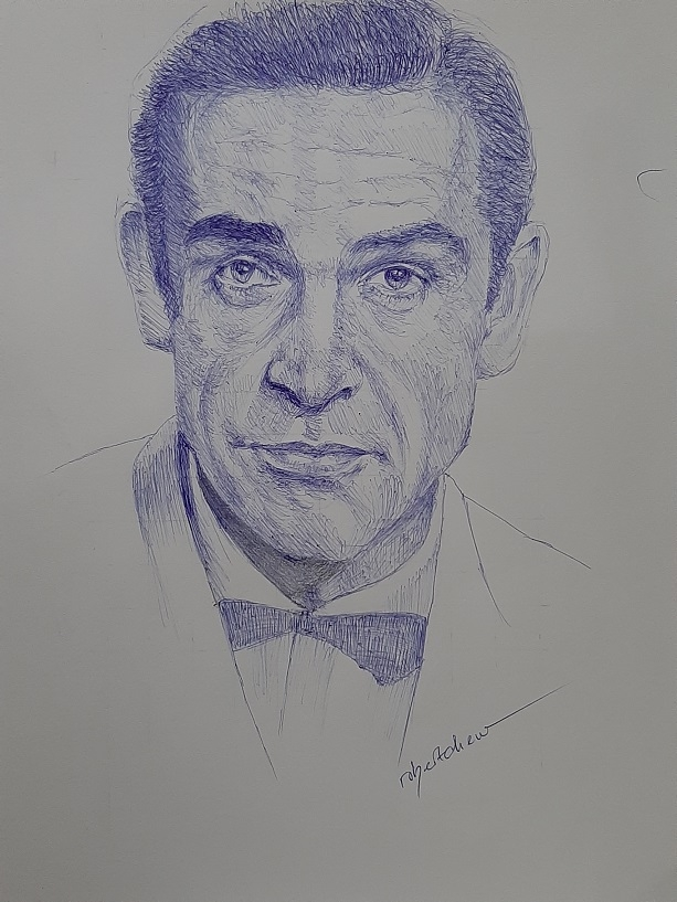 Sean Connery by Bobchew